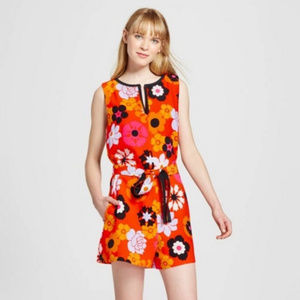 Victoria Beckham Limited Edition Mod Floral Romper